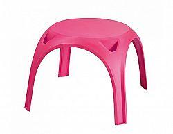 Dětský plastový stolek KIDS TABLE, růžový