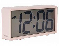 Digitální stolní i nástěnné hodiny/budík 5646PI Karlsson 18cm