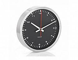 Elegantní nástěnné hodiny ERA, černé