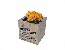Květináč s nápisem, 40 cm