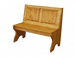 Masivní lavice, malá