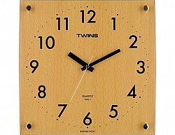 Nástěnné hodiny Twins 292-1 natur 30cm