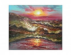 Obraz - Bouře na moři