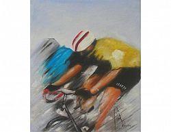 Obraz - Cyklista