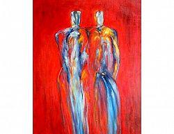 Obraz - Dva vysocí muži