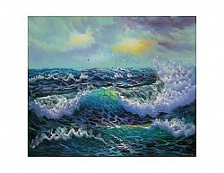 Obraz - mořské vlny