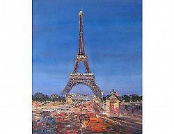 Obraz - Paříž v šeru