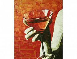 Obraz - Sklenice na martini