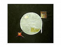 Obraz - Stříbrná planeta