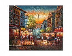 Obraz - Ulice v nočním světle