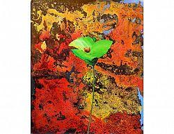 Obraz - Zelený květ