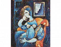 Obraz - Žena v houpacím křesle