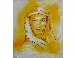 Obraz - Žlutá žena