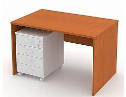 Psací stůl - 120 cm, třešeň