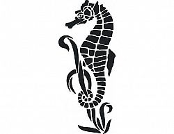 Samolepící dekorace Mořský koník