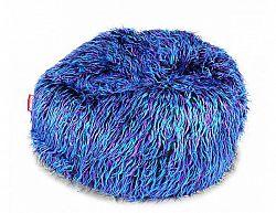Sedací pytel Shaggy Multicolor blue-black-purple