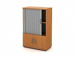 Skříň střední 2-dveřová + roleta