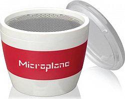 Struhadlo jemné,,pohár,,na koření červená 34100 Microplane