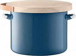 Utility chlebník & jasanové prkénko pr.31cm/14L modrá, LSA E003-31-005 LSA International