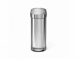 Úzký pedálový odpadkový koš Simplehuman Slim – 45 l, kartáčovaná nerez ocel