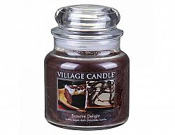 Vonná svíčka ve skle Čokoládový dortík-Brownie Delight, 16oz