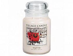 Vonná svíčka ve skle Zimní vyjížďka-Sleigh Ride, 26oz