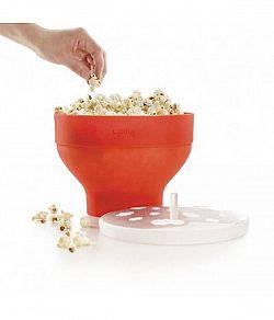 Výrobník popcornu červený - Lékué