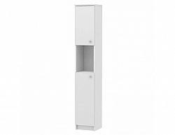 Vysoká koupelnová skříňka GALENA SI14, bílá