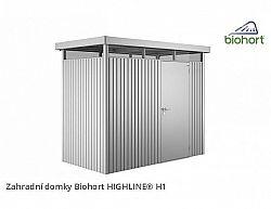 Zahradní domek HIGHLINE H1 s jednokřídlými dvěřmi