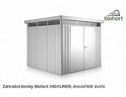 Zahradní domek HIGHLINE H3 s dvoukřídlými dvěřmi