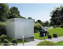 Zahradní domek HIGHLINE H4 s dvoukřídlými dvěřmi