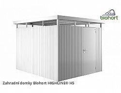 Zahradní domek HIGHLINE H5 s jednokřídlými dvěřmi