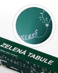 Zelená nalepovací tabule 67,5x150cm - Nalepovací tabule