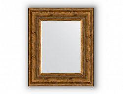 Zrcadlo v rámu, leptaný bronz