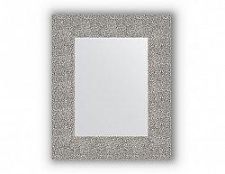 Zrcadlo v rámu, stříbrný tepaný reliéf