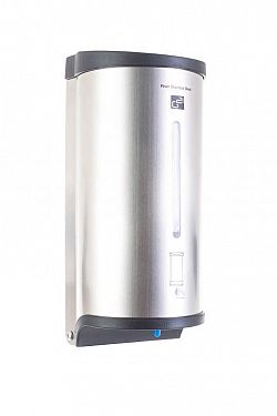 Automatický dávkovač mýdla G21 River, Stainless Steel, 800 ml