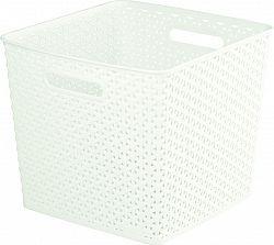 CURVER 196862 úložný box MY STYLE SQR krémový (03613-885)