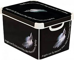 CURVER BOX s víkem plastový - L - ANGEL R41127