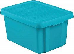 CURVER Úložný box s víkem 16L - modrý R41137