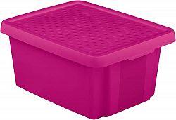 CURVER Úložný box s víkem 20L - fialový R41139