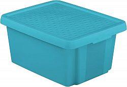 CURVER Úložný box s víkem 20L - modrý R41141