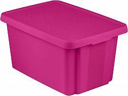 CURVER Úložný box s víkem 45L - fialový R41147