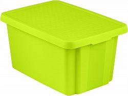 CURVER Úložný box s víkem 45L - zelený R41148