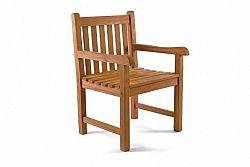 Divero Exkluzivní židle z týkového dřeva DIVERO D40768