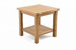 Divero Odkládací týkový stolek DIVERO - 50 cm D47267
