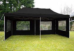 Garthen 2267 Zahradní párty stan 3x6 m černý nůžkový