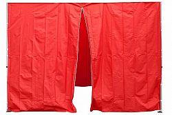 Garthen 30693 Sada 2 bočních stěn pro PROFI zahradní stan 3 x3 m červená