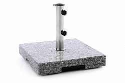 Garthen 40603 Stojan pro slunečník - žula a ocel - 37 kg