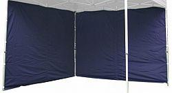 Garthen 422 Sada 2 bočních stěn pro PROFI zahradní stan 3 x 3 m - modrá