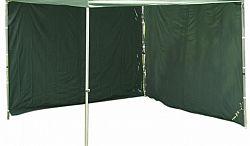 Garthen 427 Sada 2 bočních stěn pro PROFI zahradní stany 3 x 3 m - zelená